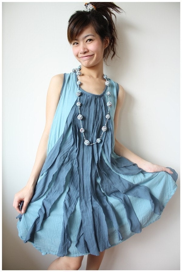 Be cheery with Ocean Blue Dress