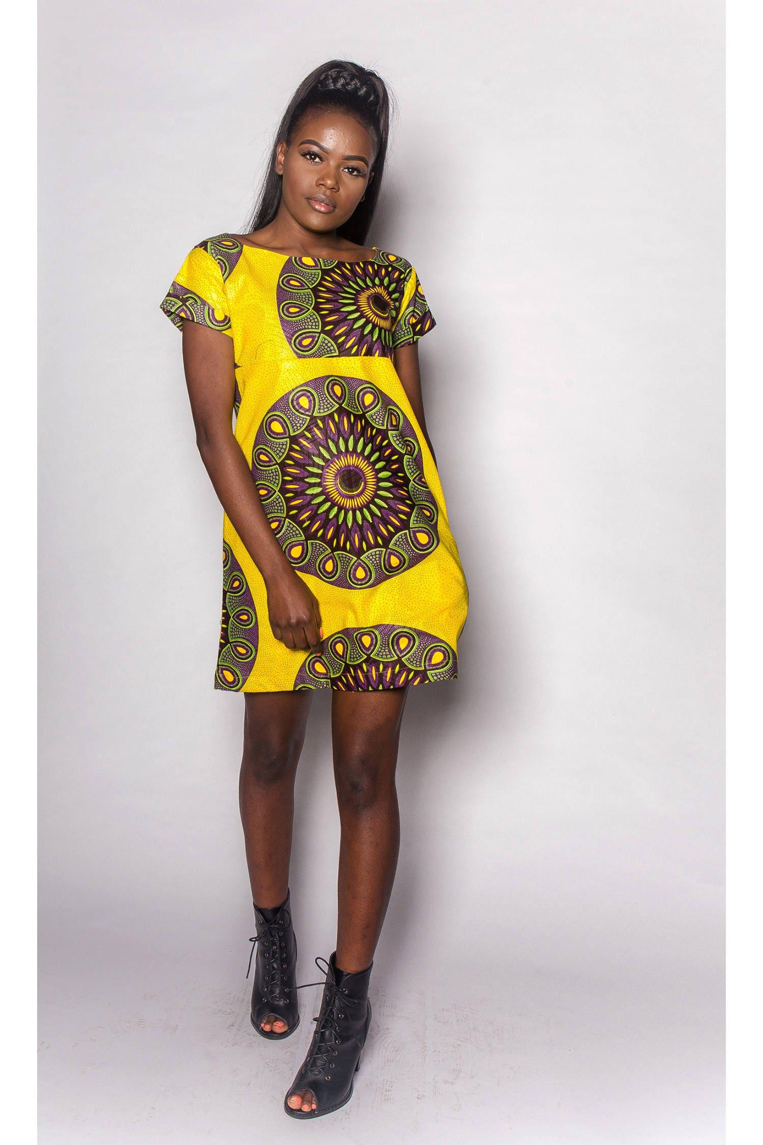 Bani JEKKAH  African 60s Dress  Womens