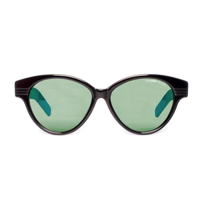 L.A. GEAR Moves 2 blue Vintage Sunglasses - MODvintageshop