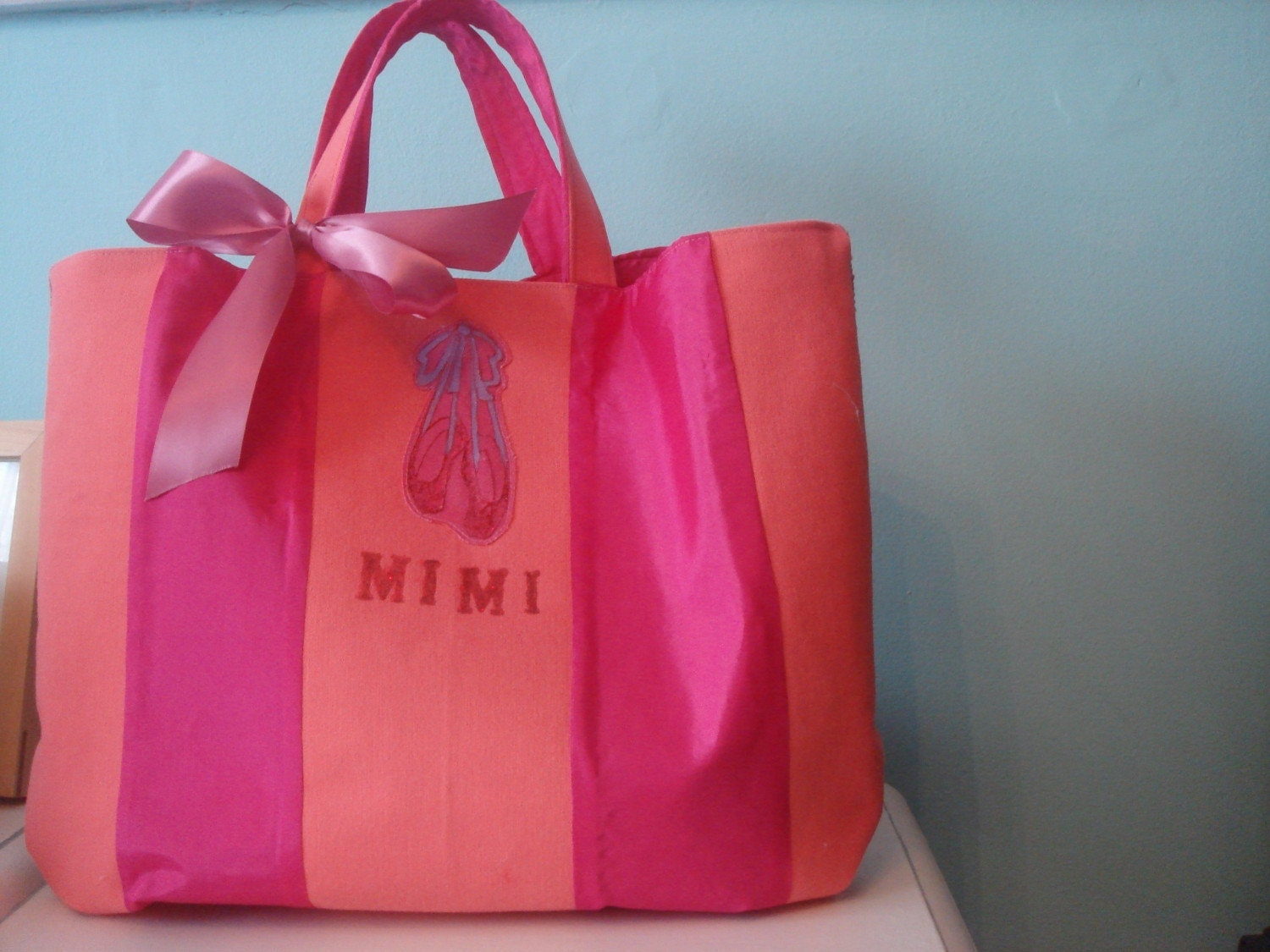 Mimi bag  (personalised ballerina tote bag)