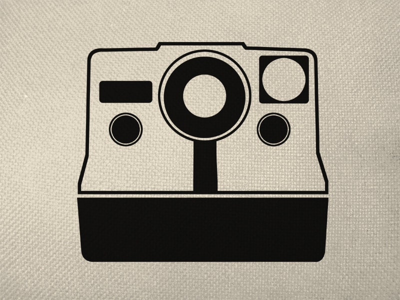 Camera silhouette   Etsy