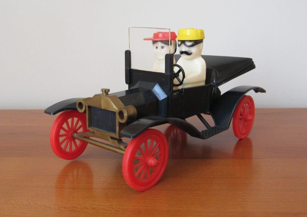 Plastic Miniature Car Ford Model T Figurine