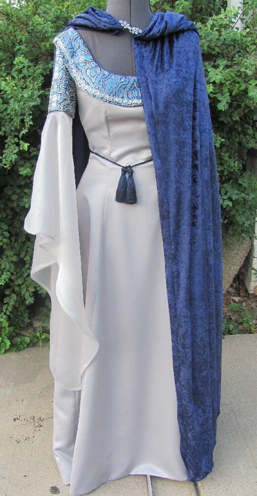 Costume Adult Ren Fair Elvish Lotr Faerie Dress By