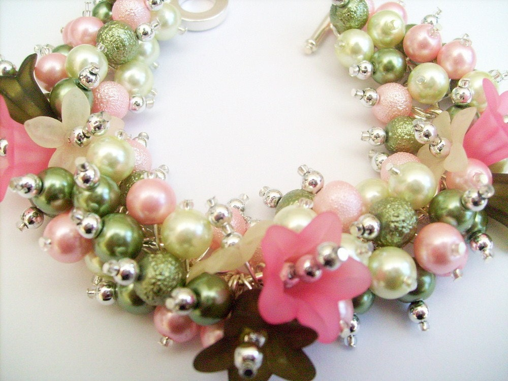 Beaded Charm Bracelet by Kim Smith SRAJD - Sweetness