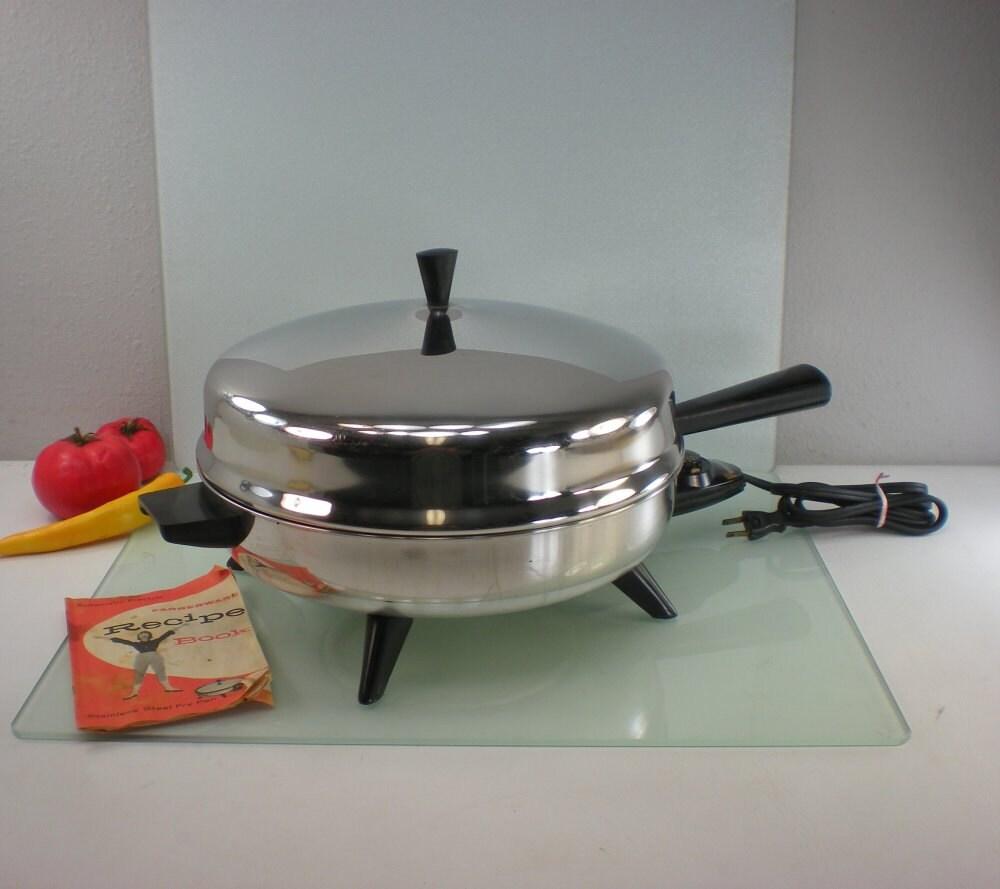 Farberware 12 Fry Pan Electric Skillet By Oldetymestore On Etsy