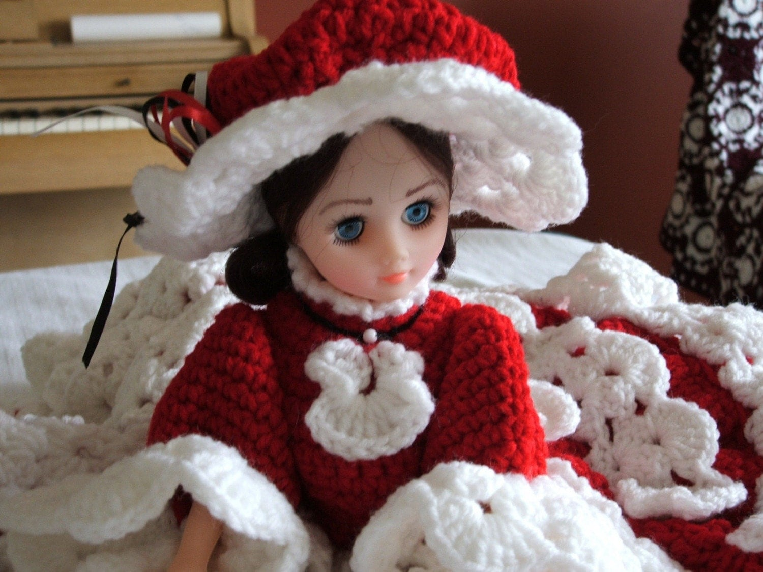 or bridal dresses crocheted bed dolls and pillow dolls add a kitschy ...