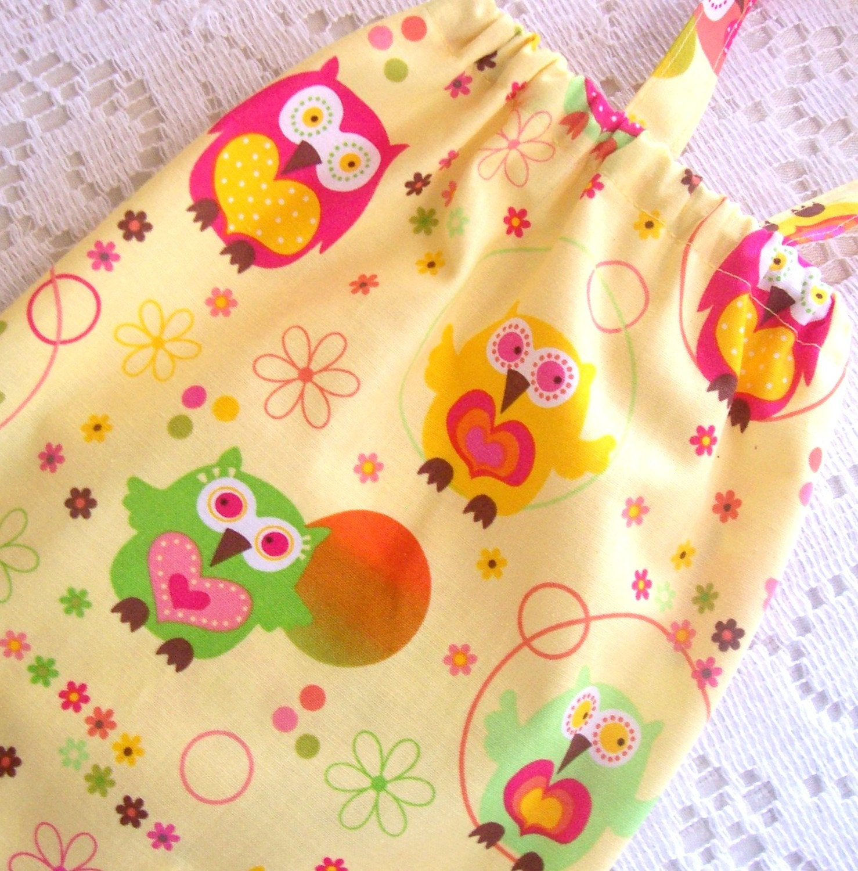 Owl Plastic Bag Holder