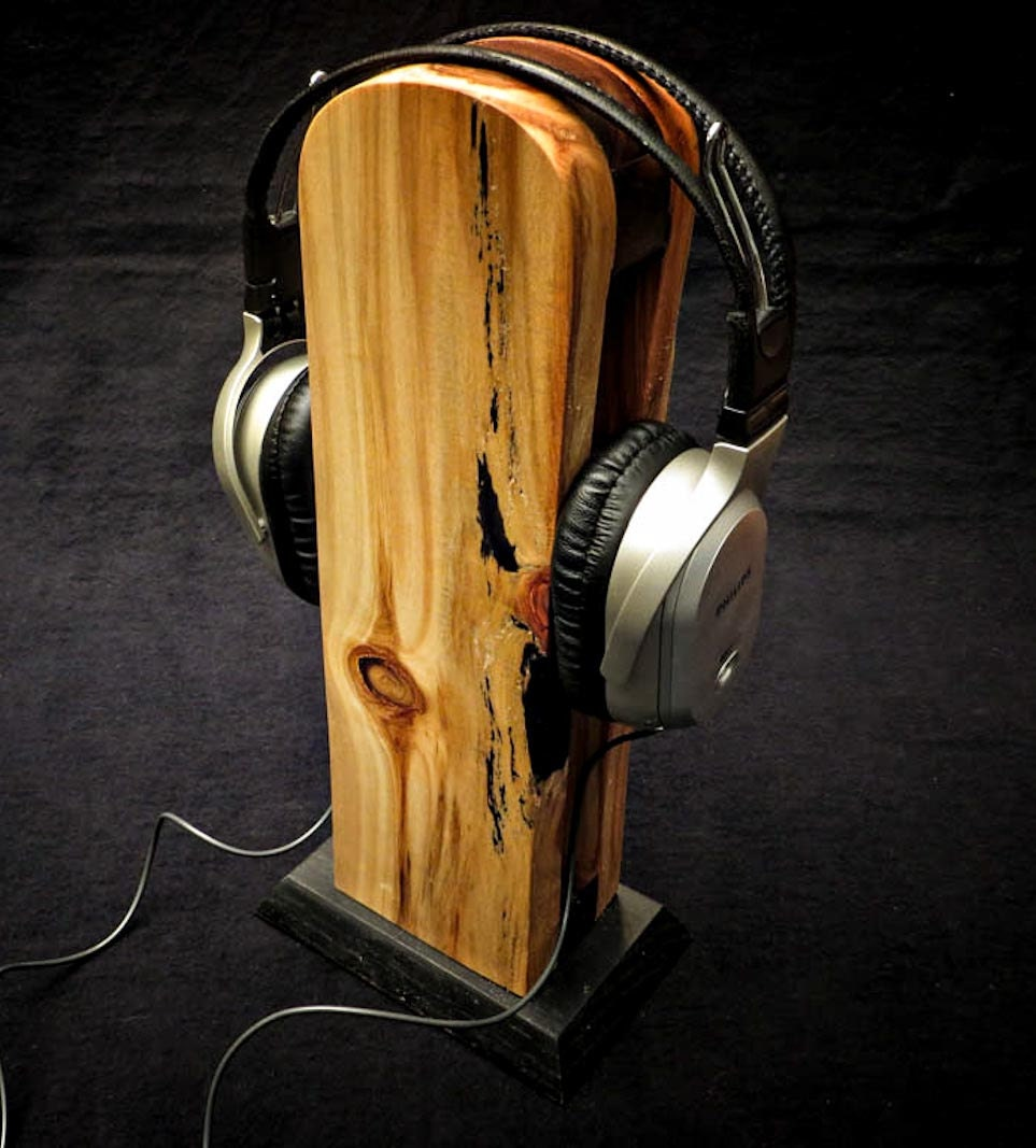 Headphone Stand Designs : Images about best headphone stands on pinterest