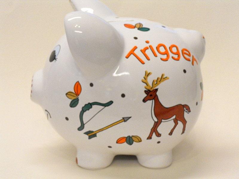 Deer piggy bank - Farting piggy bank ...