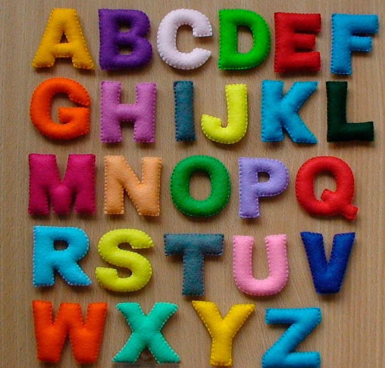 Буквы своими руками рисунки 163