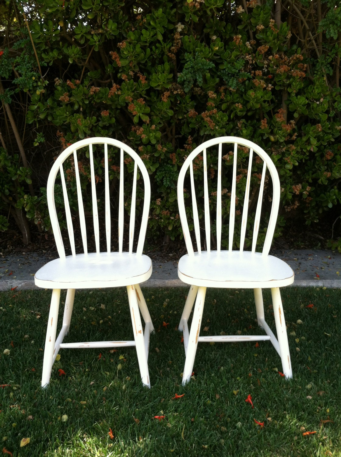 Set of 6 Shabby Chic White Chairs Distressed by ThePaintedLdy : il570xN438013506a7mc from www.etsy.com size 570 x 763 jpeg 150kB
