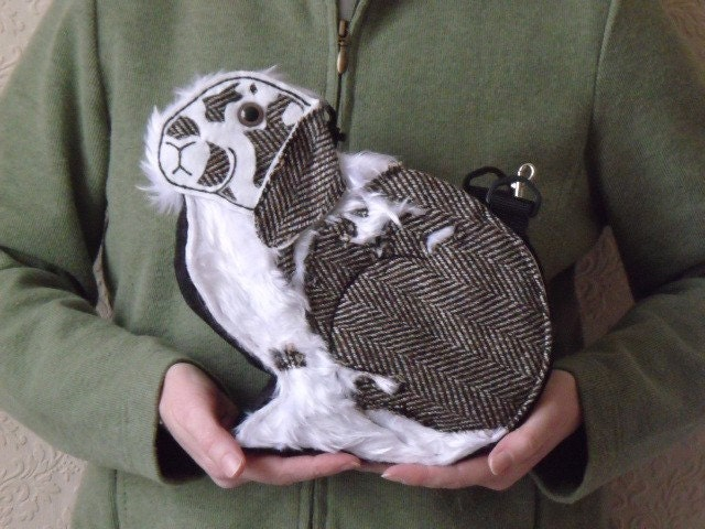 Wesley Art Accessory Rabbit Bag - custom order - you decide