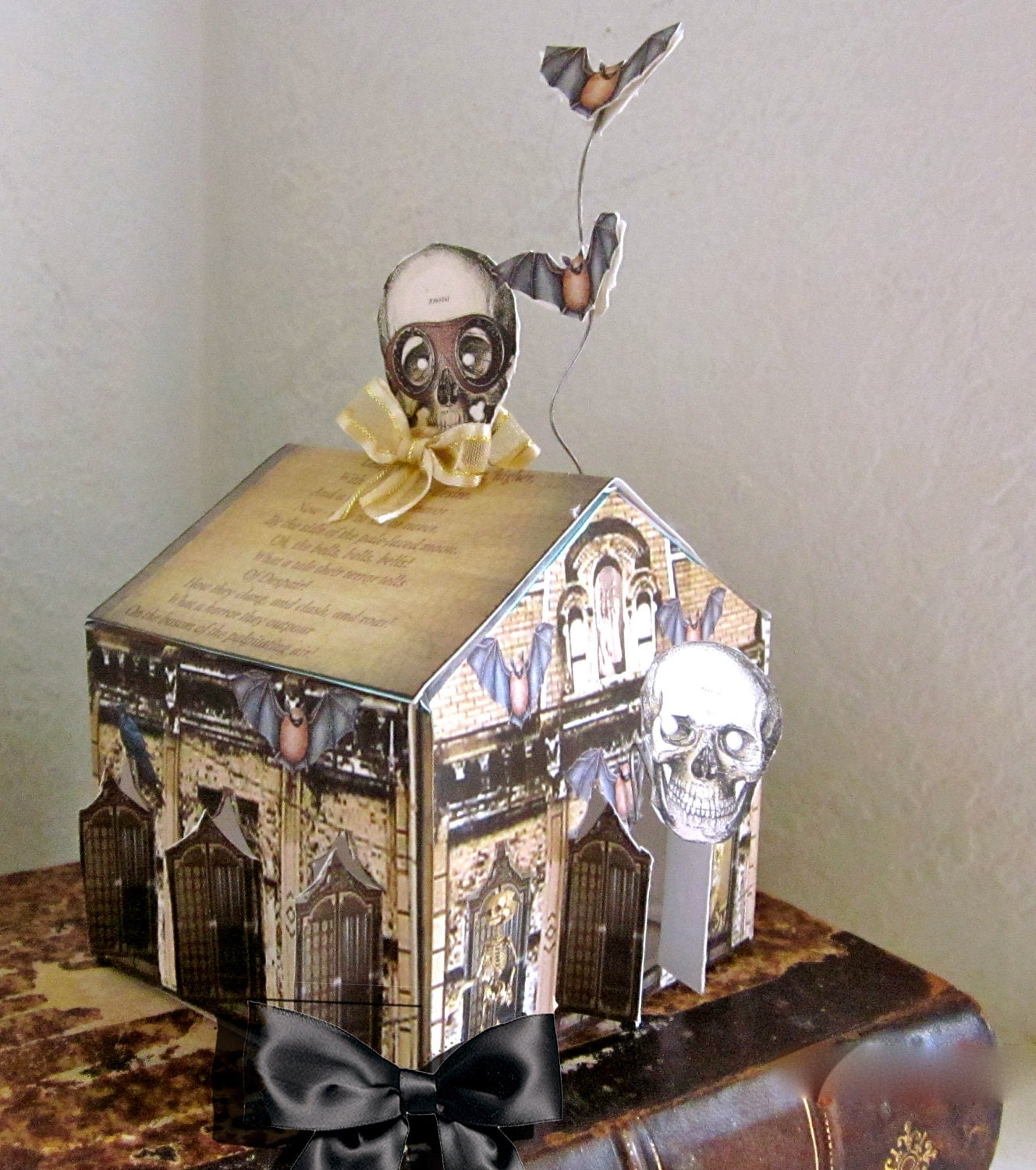 Diy halloween decor steampunk haunted house by for Diy steampunk home decor