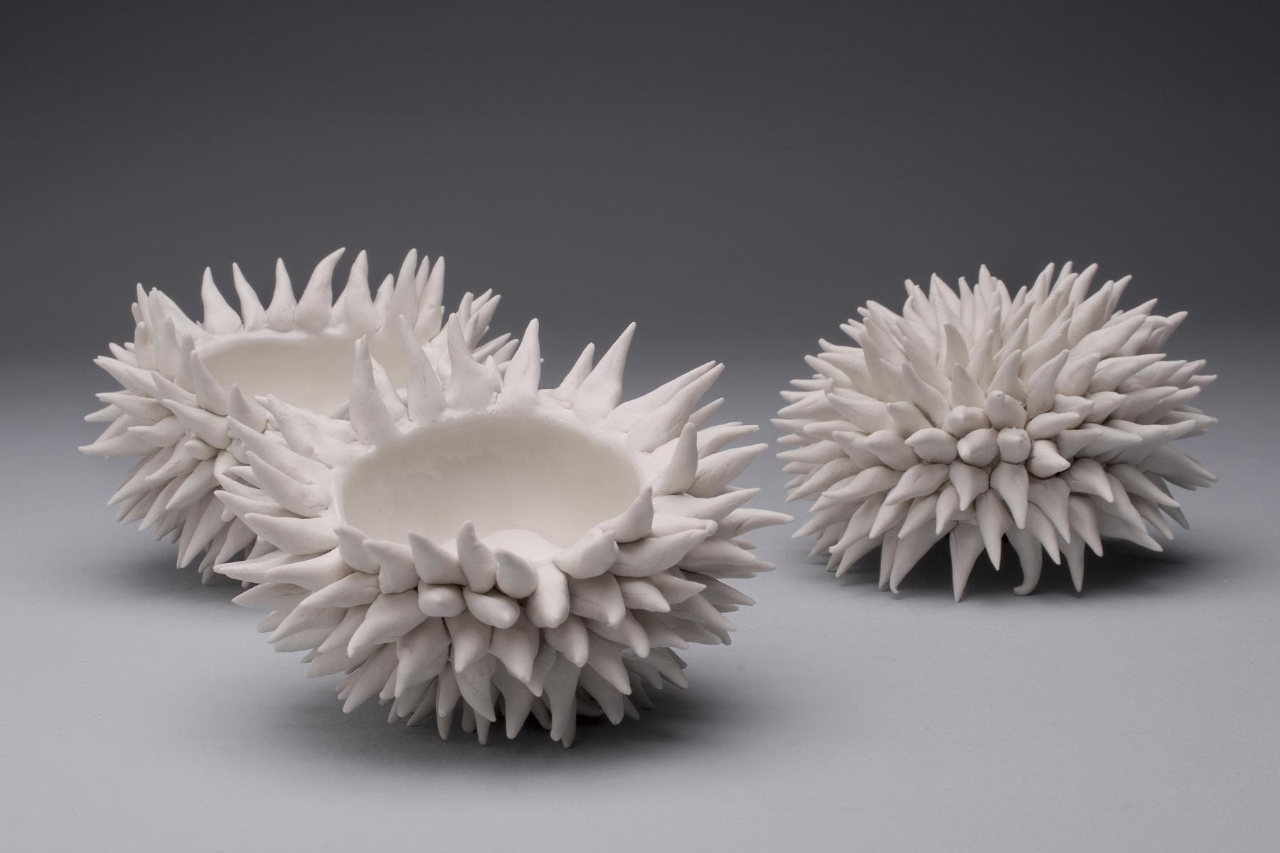 set of 3 urchin bowls