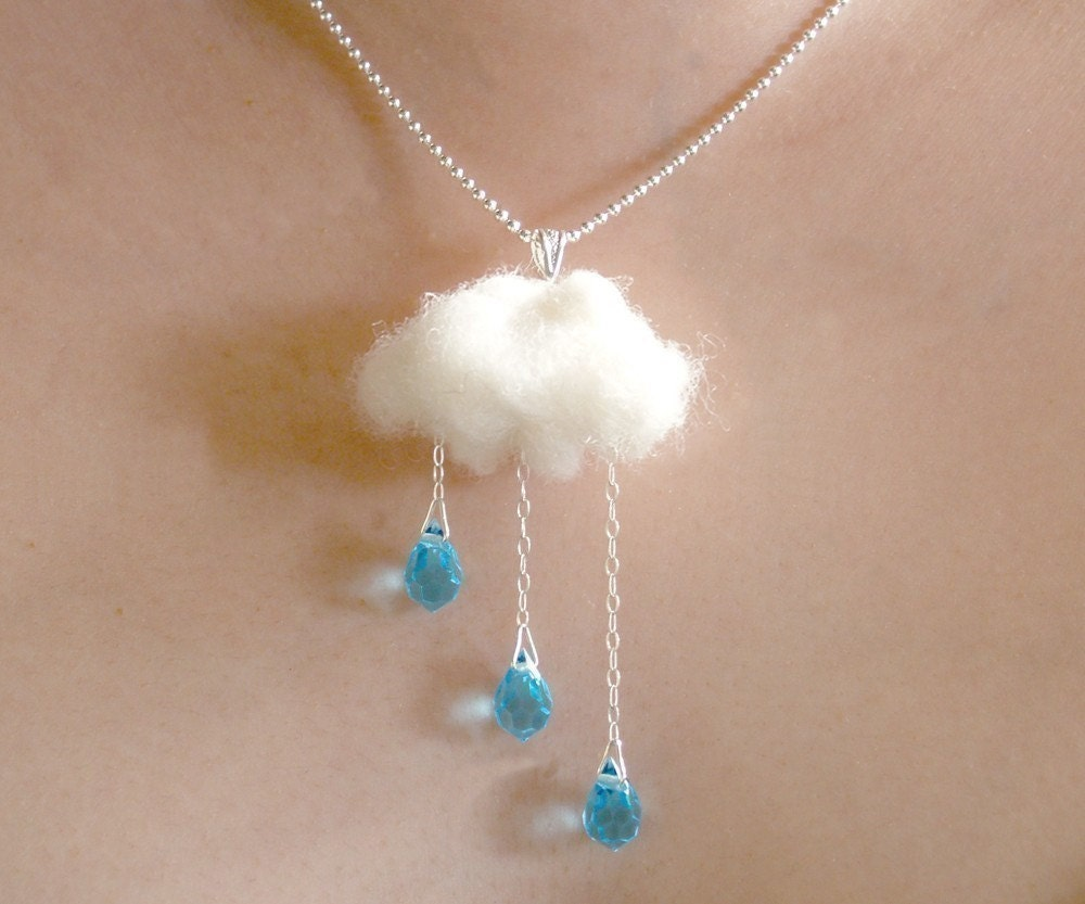 Rain and Cloud -ENGLISH SUMMER- Necklace
