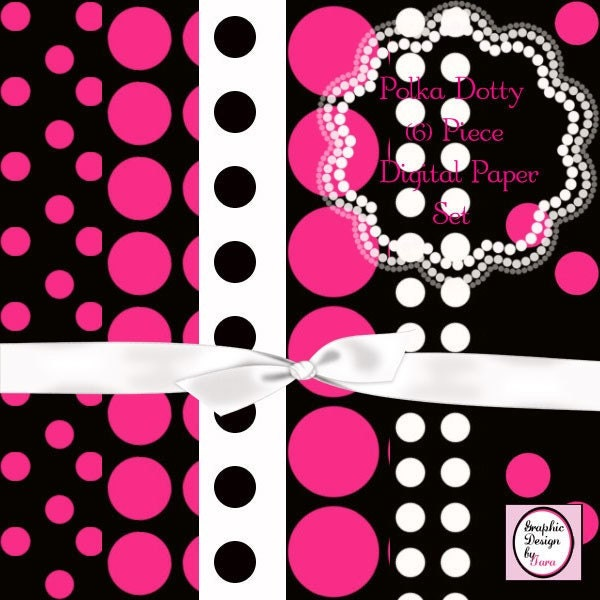 Pink Polka Dot Wallpaper: Roiremoldtrig: Pink Polka Dot Wallpaper