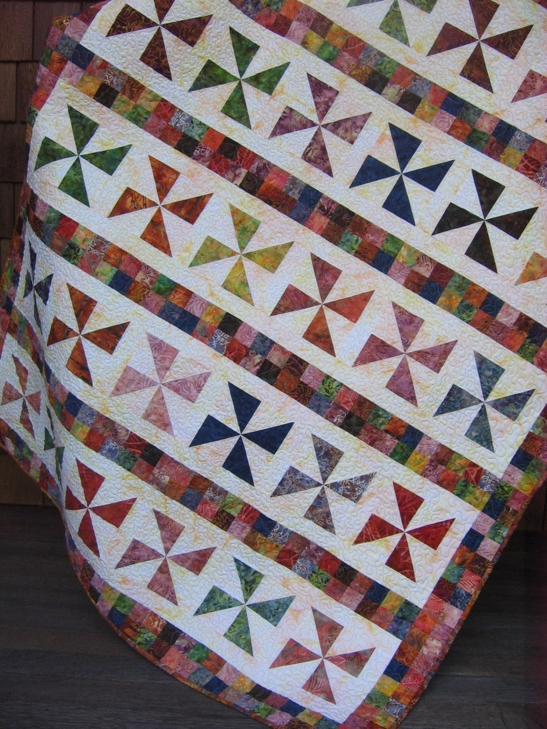 QUILT PATTERN Fat Quarters or Scraps by Sweet Jane ...