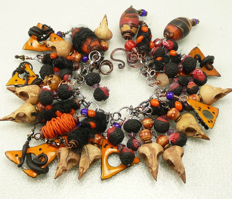 Wild Halloween Charm Bracelet