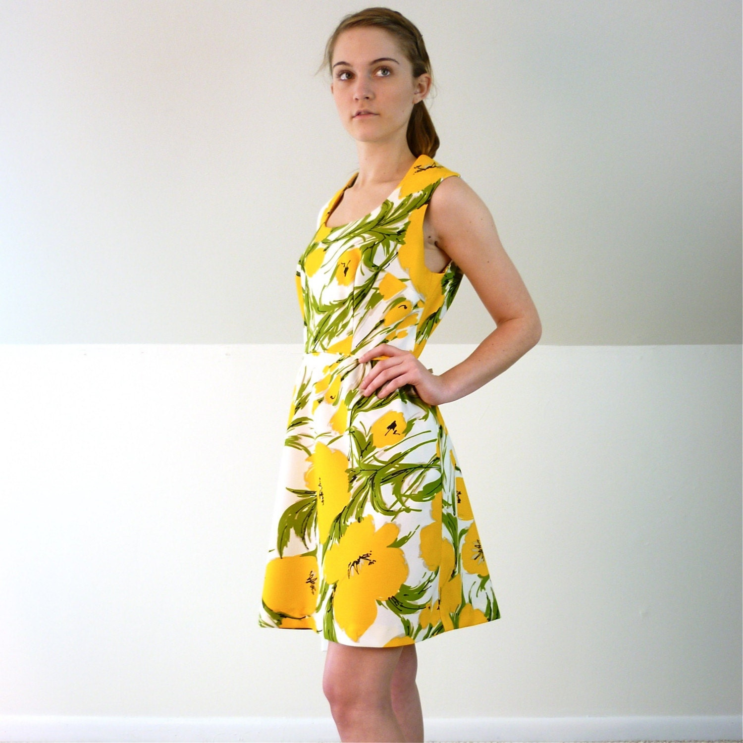 Spring Tulip Garden Party Dress
