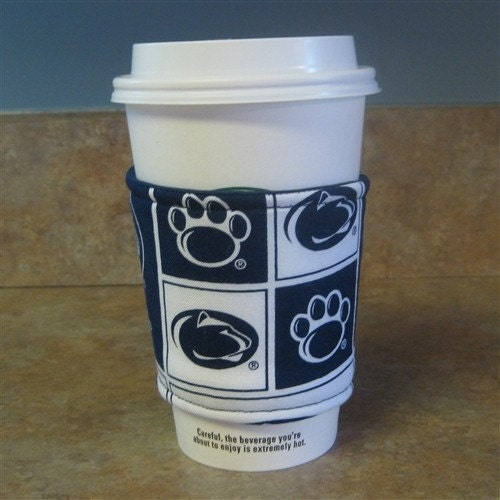 Penn State University Nittany Lions Reversible Coffee Cozy Sleeve