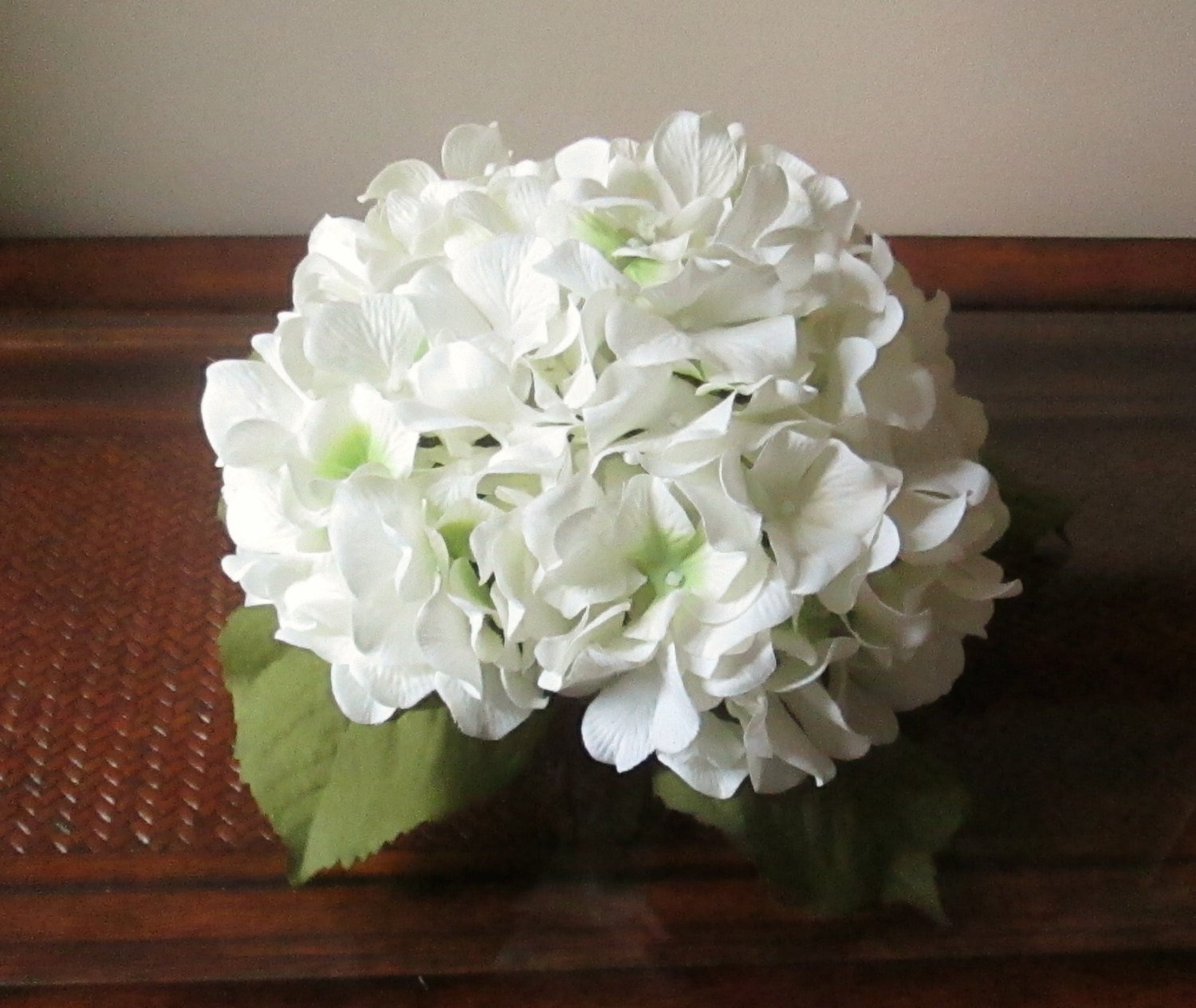 Hydrangea centerpieces wedding decorations by shannonkristina