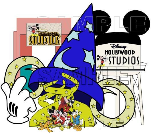 Disney World Hollywood Studios Clipart Disney hollywood studios