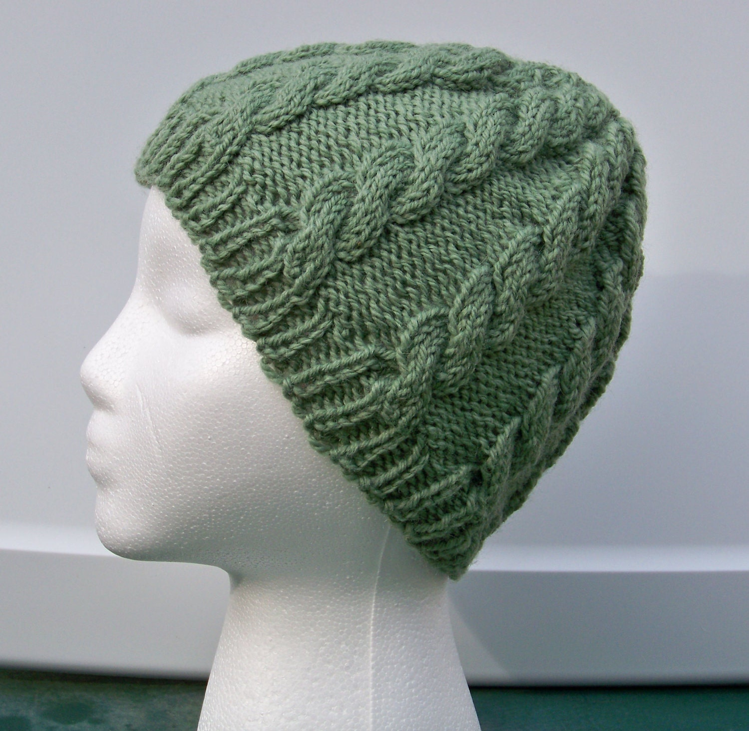 Fisherman's Cable Knit Hat