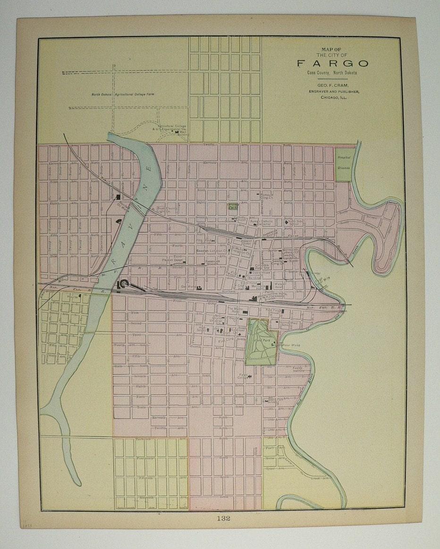 Fargo North Dakota And Minneapolis MN Antique By