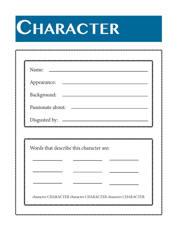 writing character development