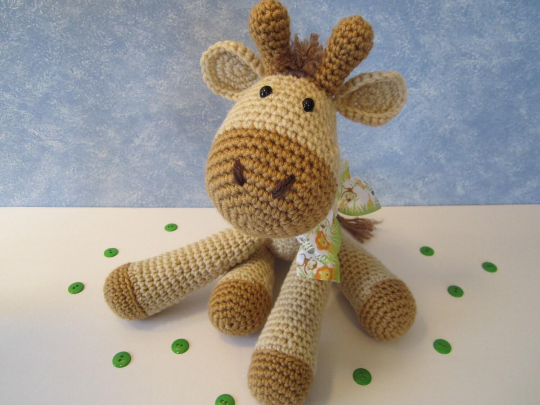 Crochet Giraffe : Unavailable Listing on Etsy