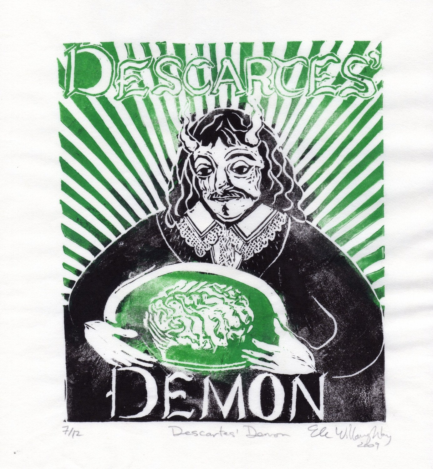 descartes evil demon argument The evil demon argument and/or the brain in the vat argument postulates that everything we sense/think could be manipulated by a powerful entity/demon, so then how do we know anything for sure.