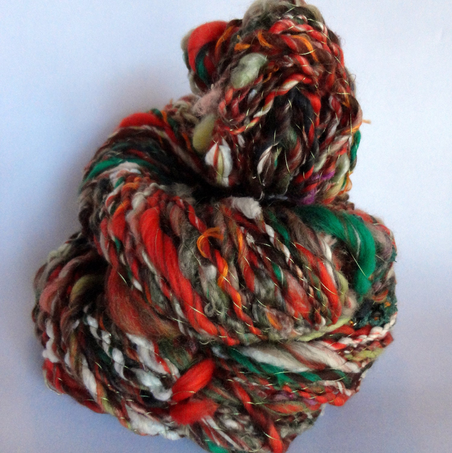 Handspun Yarn Feels Like Fall Halloween 115 Yards