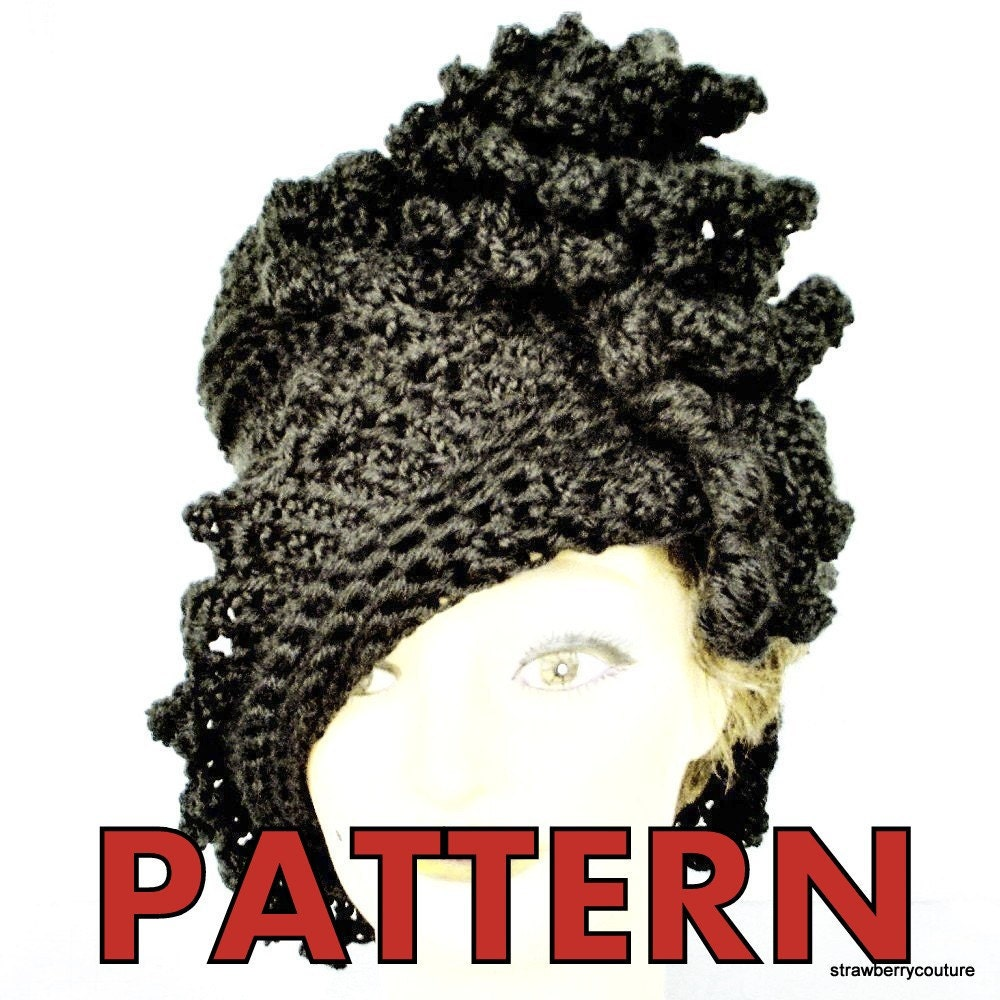 32a026eafc5 I offer handmade twisted crochet couture hats and patterns for women that  flatters all sizes made from soft acrylic