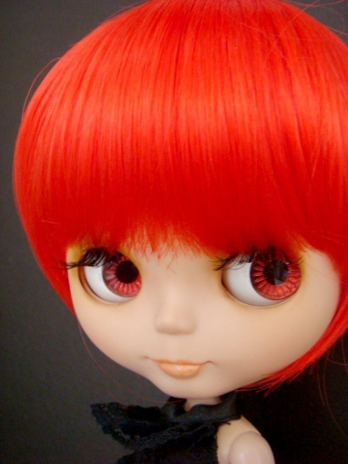 Blythe Hair Wig - RED Bob