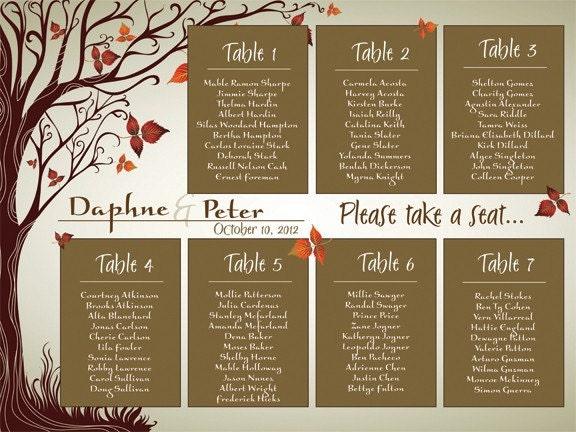 Ideas paneles  para colocar los nombres de los invitados 5