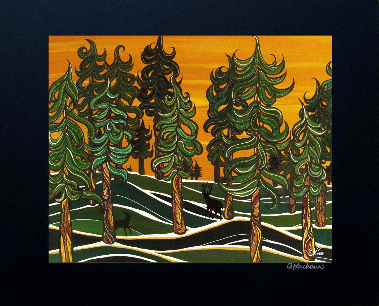 Items Similar To Tree Art Print Wall Art Fine Art 11x14