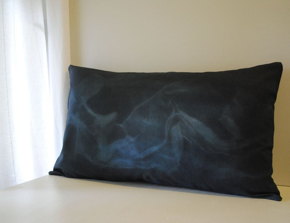 Shadow Series - Smoke Pillow Cover- 13 x 22
