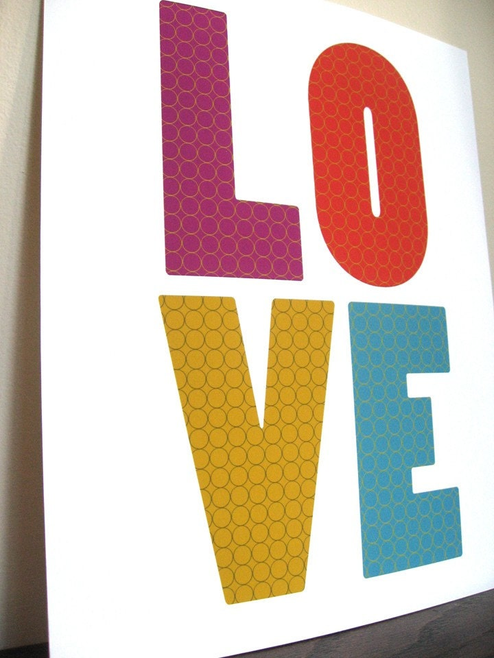LOVE     8x10