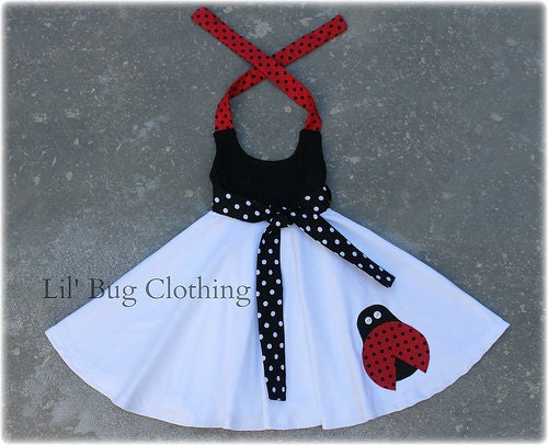 New girls cute ladybug insect masquerade fashion fantasia fancy dress Halloween costume clothing child beetle outfit