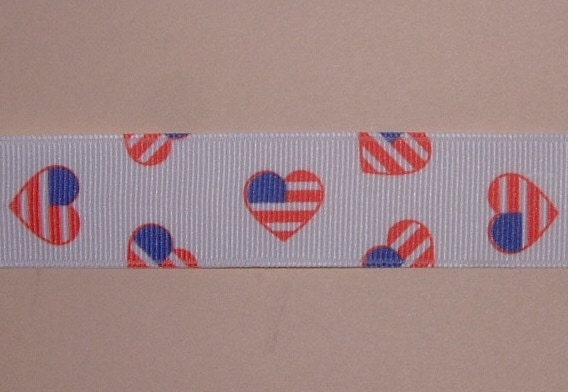 American Heart Pacifier Clip