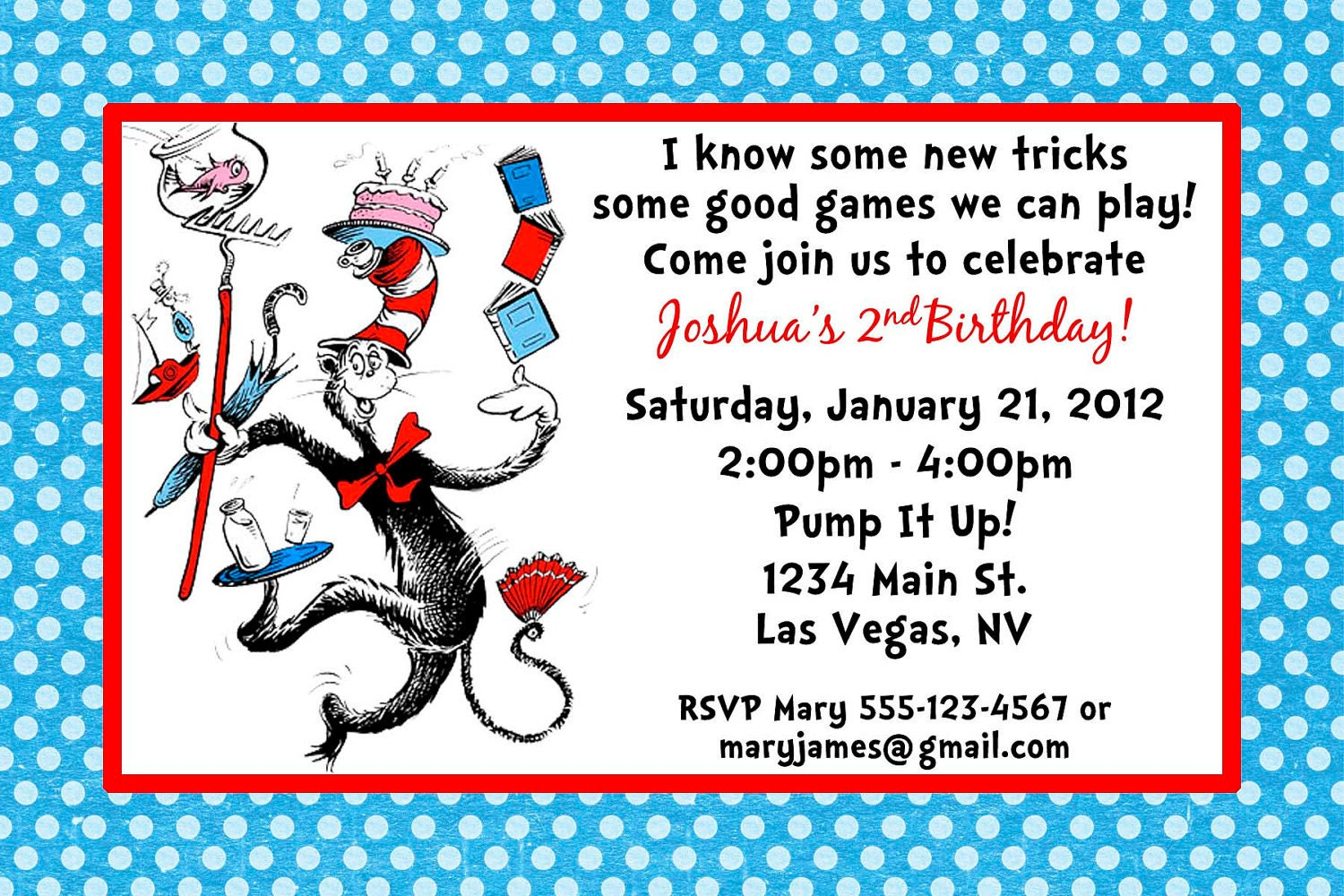 Dr Seuss Party Invitations for your inspiration to make invitation template look beautiful