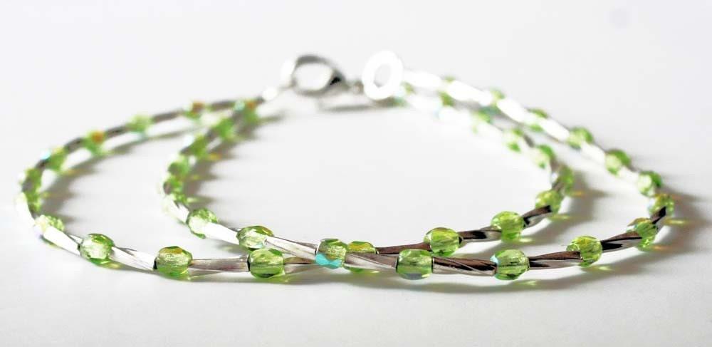 Maddy Bracelet in Green