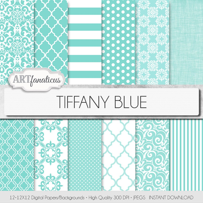 tiffany blue design wallpaper - photo #20
