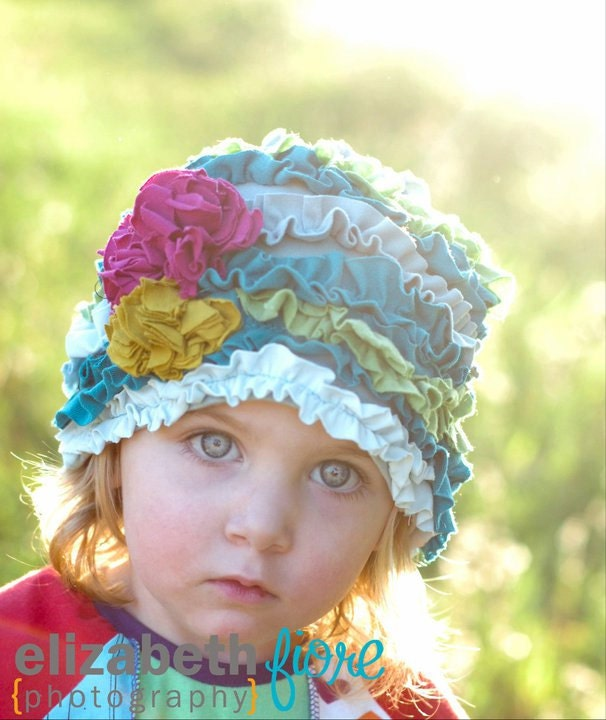 "PDF ""The Azalea Cloche"" HAT Sewing E-Pattern & Detailed Tutorial Sizes Newborn to Adult"