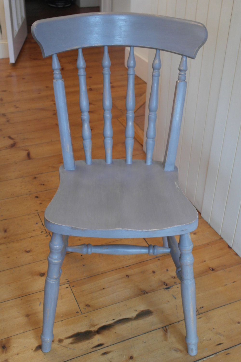 Vintage Farmhouse Kitchen  Dining Chair Shabby Chic Distressed Style