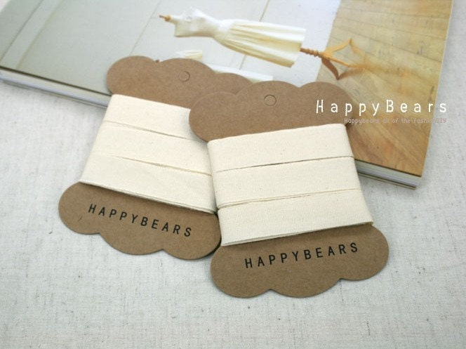 15mm Natural Cotton Label Tapy (2Y)