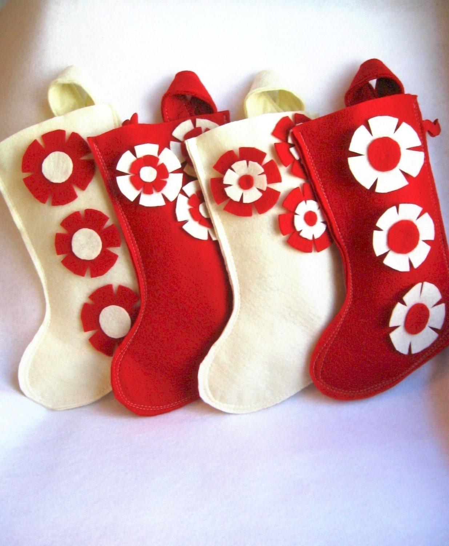 Сделать носок для подарков своими руками