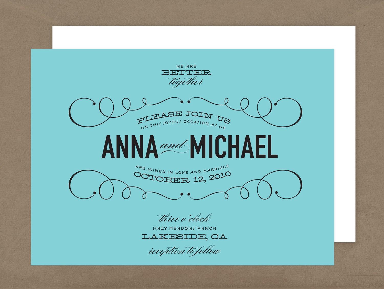 Wedding Invitation Wording- Couple Hosting - Advice - Project Wedding ...