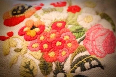 Vintage Shabby Chic Farmhouse Pillow