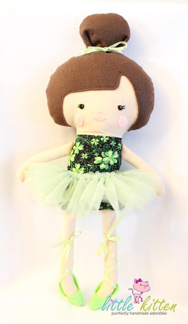 Ballerina Doll Plush - Ryanne - Made To Order